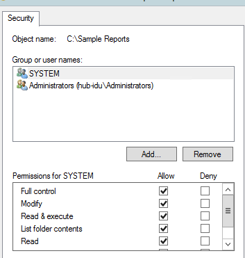 QuickBooks error 1904 module failed to register : modify the user persmission