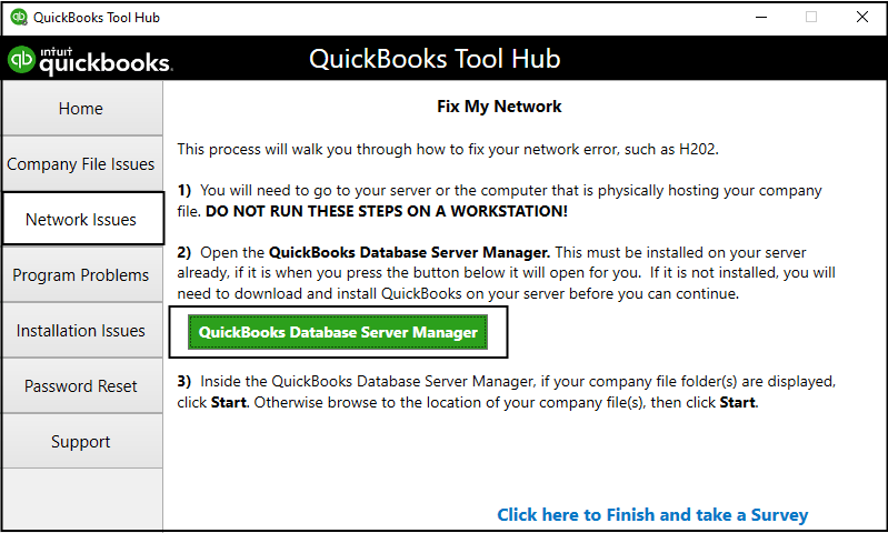quickbooks database server manager facts
