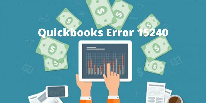 QuickBooks error 15240