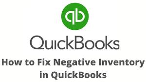 Quickbooks negative inventory: featured image